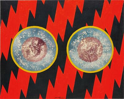 Hsiao Chin 蕭勤, 'Nel profondo delle Tenebre', 1965