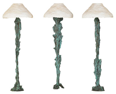 """Andrew Lord, 'Three floor lamps, """"Three Lamps,"""" USA', 1988"""