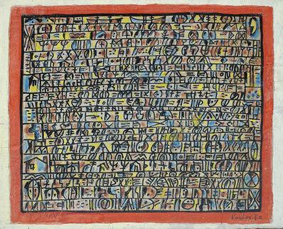 Manuel Pailós, 'Escritura', 1970