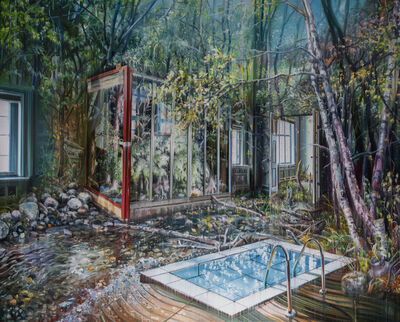 Jacob Brostrup, 'The Pool and the Greenhouse', 2019