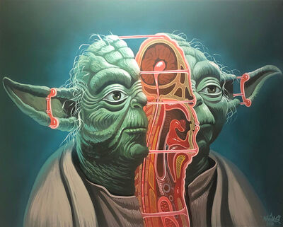 NYCHOS, 'Cross Section of Yoda', 2016