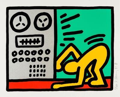 Keith Haring, 'Pop Shop III (see Littmann p.145)', 1987