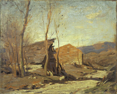 George M. Bruestle, 'Late Autumn Afternoon', 1918
