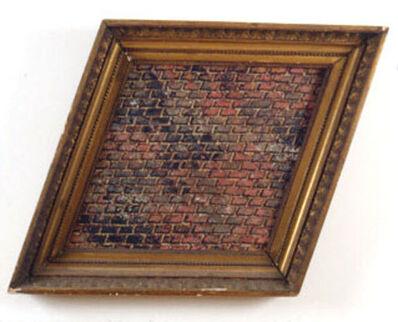 Martin Wong, 'Untitled (brick, trapezoid)', 1986