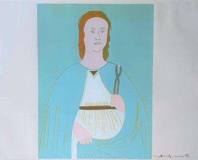 Andy Warhol, 'Saint Apollonia -unique-', ca. 1984