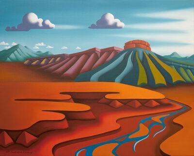 Joseph Comellas, 'Ranchers Paradise      (original oil on canvas) ', 2020