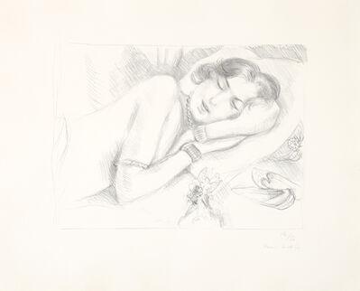 Henri Matisse, 'Figure endormie aux babouches', 1929