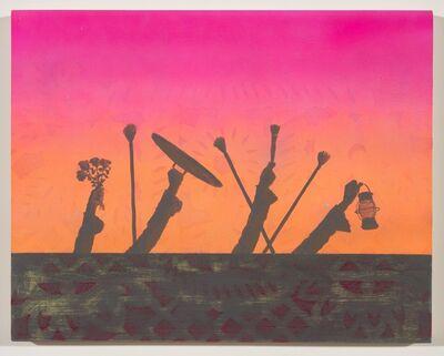 Vonn Cummings Sumner, 'Sunset Wall Mob', 2017