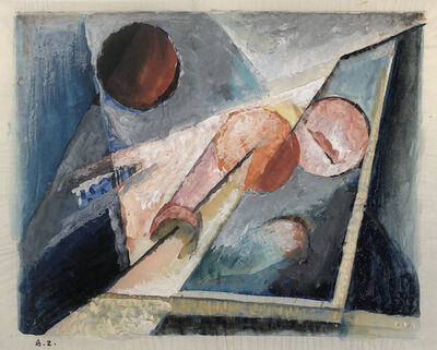 Werner Drewes, 'Untitled (A.Z.)', 1929