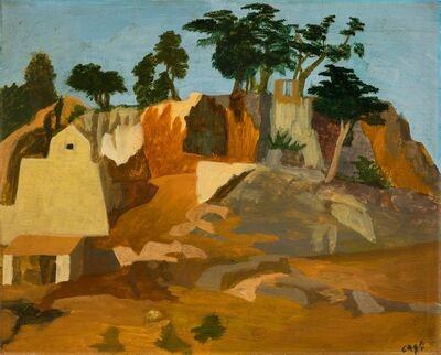 Corrado Cagli, 'Rupe Tarpea', 1934