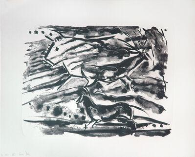 Elaine de Kooning, 'Shadow Wall (The Lascaux Series)', 1984
