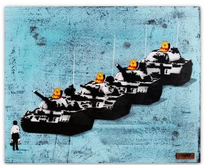 TABBY, 'Tiananmen Bear Blue', 2020