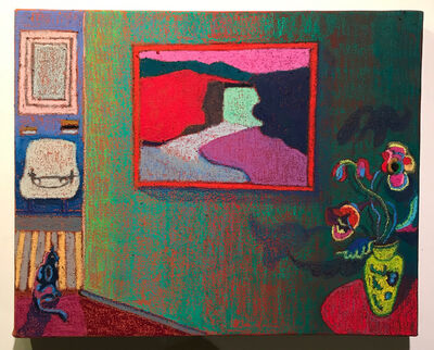 JJ Manford, 'Interior with Milton Avery', 2020