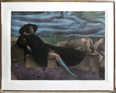 Paul Wunderlich, ' In der Campagna bei Rom', ca. 1980