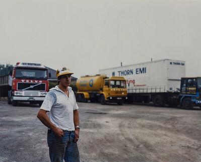 Paul Graham, 'Lorry Driver in Cap, Yorkshire', 1981