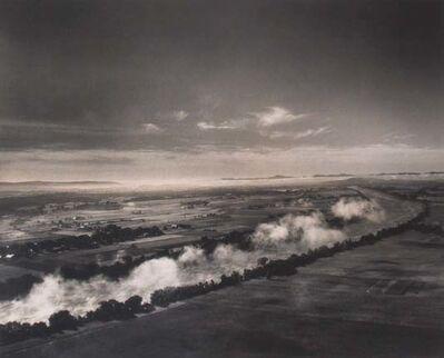 Margaret Bourke-White, 'Ohio River', Illinois 1955