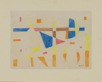 Sandu Darie, 'Untitled (Composicion Concreta)', ca. 1958