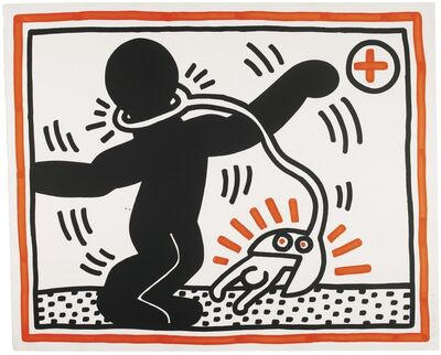 Keith Haring, 'Untitled I ('Free South Africa')', 1985