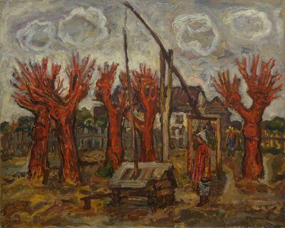 Vadim Semenovich Velichko, 'Stork water well', 1974
