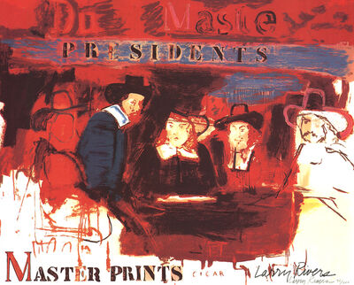Larry Rivers, 'Dutch Masters II', 1991