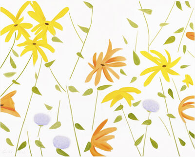 Alex Katz, 'Summer Flowers II', 2017