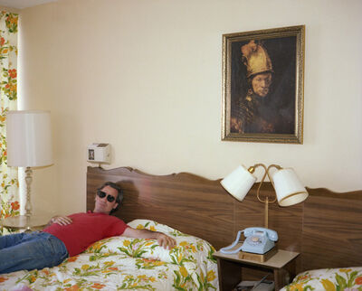 Joe Maloney, 'Victor, Metropolitan Motel, Asbury Park, New Jersey', 1980