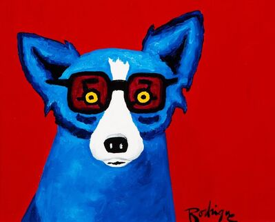 George Rodrigue, 'I'll Be Seeing You', 1996