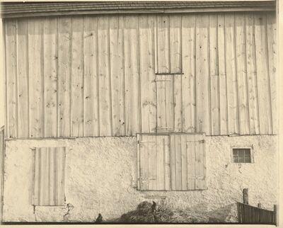 Charles Sheeler, 'Side of White Barn', 1917