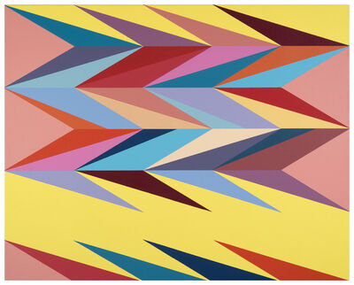 Odili Donald Odita, 'Surface Charge 1', 2014