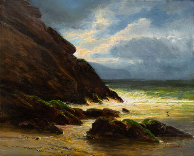 Erik Koeppel, 'Stormy Weather at Mabou Coal Mines Beach, Cape Breton', 2020