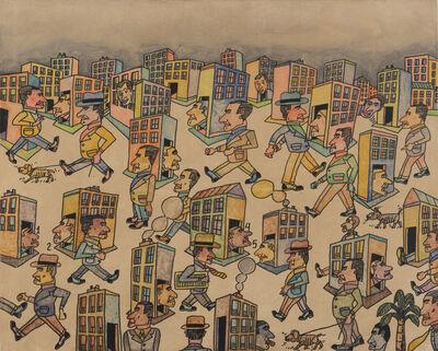 Antonio Seguí, 'Cielo Inestable', 2014