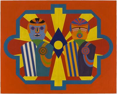Errol Ortiz, 'Astronaut Targets', 1965