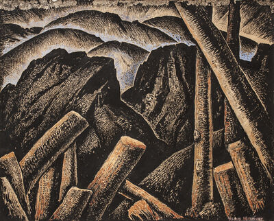 Alfredo Ramos Martínez, 'After the Storm', ca. 1934