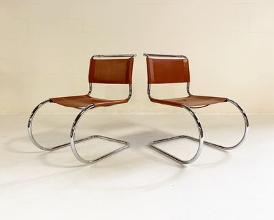 Ludwig Mies van der Rohe, 'MR Chairs, pair', mid 20th century