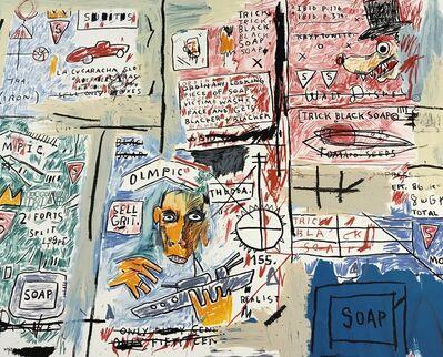Jean-Michel Basquiat, 'Olympic', 2017
