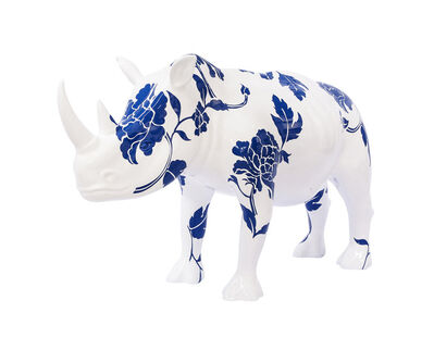 Liu Ren, 'US-Rhinoceros in Love', 2013
