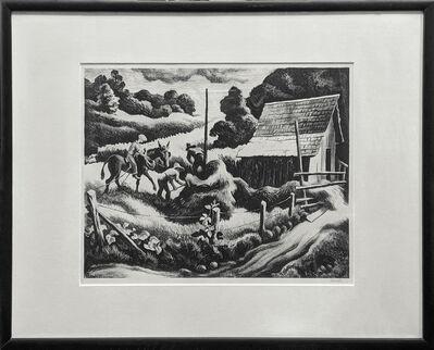 Thomas Hart Benton, 'HAYSTACK', 1938
