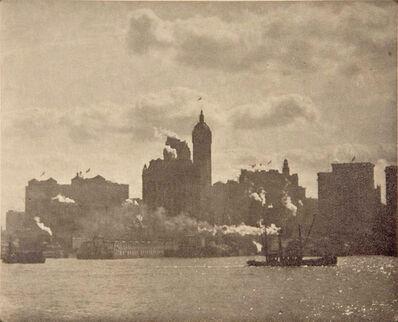 Alfred Stieglitz, 'Lower Manhattan', 1910