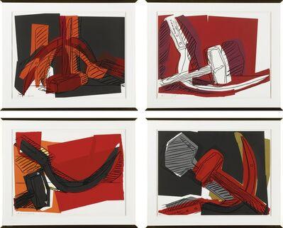 Andy Warhol, 'Hammer and Sickle (Feldman & Schellmann II.161-164)', 1977