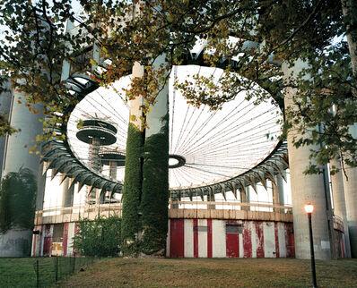 "Jade Doskow, 'New York 1964 World's Fair, ""Peace Through Understanding,"" New York State Pavilion', 2007"