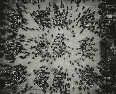 Marvin E. Newman, 'Bird's Eye View, New York Stock Exchange', 1957