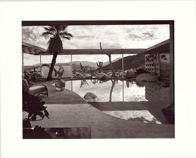 Julius Shulman, 'Loewy House. John Clark & Albert Frey. Palm Springs, California. ', February 11-1947