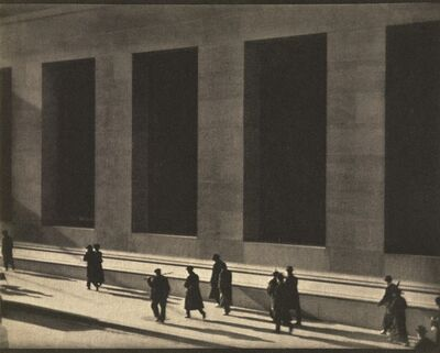 Paul Strand, 'New York', Negative 1915; print 1916