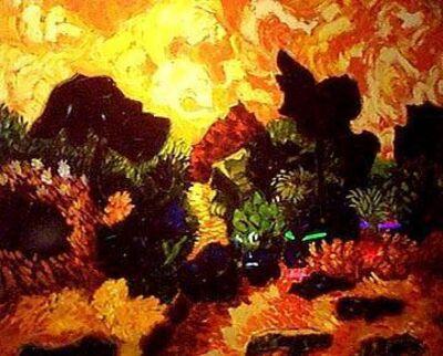 Gloria Cesal, 'Tangerine Sky', 2000