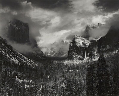 Ansel Adams, 'Clearing Winter Storm, Yosemite National Park, CA 1944', 1944-printed 1970s