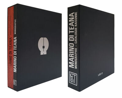 Marino di Teana, 'Catalogue raisonné - FRANCESCO MARINO DI TEANA', 2018