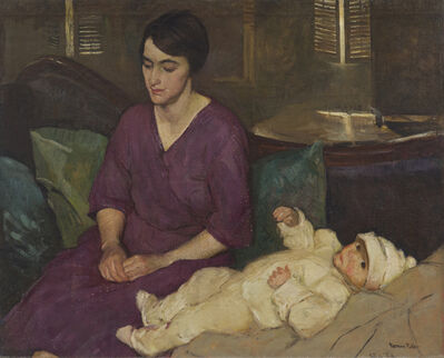 Gertrude Fiske, 'Portrait of William', ca. 1929-1930