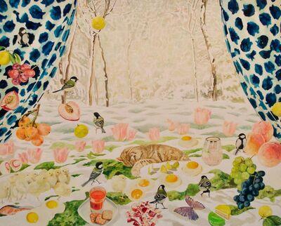 Teppei Ikehila, 'Snow Draws', 2018
