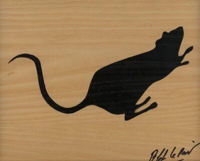 Blek le Rat, 'Rat Stencil', 2011