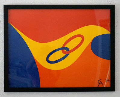 Alexander Calder, 'Friendship Rings', 1974